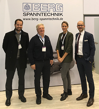 The team of AFMECH together with Christian Wenge during EuroBLECH 2018